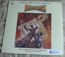 HERCULES (Pino Donaggio) rare original factory sealed stereo lp (1983)