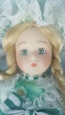 Soft Expressions Genuine Porcelain Holiday Classic Doll w/ Stand Special Edition
