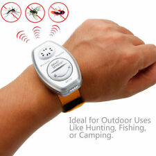 Ultrasonic Mosquito Repeller Pest Bug Repellent Insect Wrist Band Control A