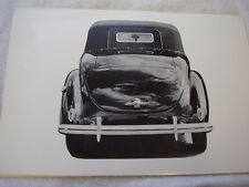 1939 FORD CONVERTIBLE REAR SHOT  12 X 18  LARGE PICTURE  PHOTO
