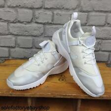 NIKE MENS UK 7 EU 41 WHITE HUARACHE UTILITY TRAINERS TRIPLE WHITE EDITION
