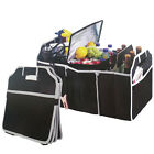 1x Car Auto Trunk Cargo Organizer Collapsible Bag Storage Black Folding Case New