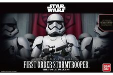 Star Wars Plastic Model Kit 1/12 FIRST ORDER STORMTROOPER Bandai Japan NEW **
