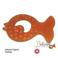 Natural Rubber Teething Soother makeUwell single pack Sensory Teether Chewie