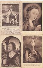 Lot 4 cartes postales anciennes BELGIQUE ANVERS ANTWERPEN musée 2