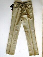 Levis 566 Sta-Prest Herren Jeans Hose Beige Unifarben W28 L32 NEU!