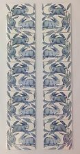 William de Morgan Reproduction Running Rabbits Fireplace Tiles Set Of 10 Tiles