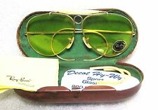 RAY-BAN *NOS VINTAGE B&L AVIATOR KALICHROME 12k GF 60s Bullet Shooter SUNGLASSES