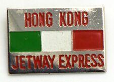 Spilla Hong Kong Jetway Express Italia cm.2,2 x 3,1