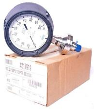 * NEW * Wika Pressure Gauge 4217919 M932.D1 100 psi 1/2 NPTM SS * FREE SHIPPING