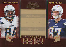 2007 PLAYOFF CONTENDERS DRAFT CLASS #DC-25 DAVIS CHANDLER 0697/1000 *12570