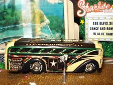 100% HOT WHEELS  U. S. ARMY BUS LIMITED EDITION TROOP CARRIER 1/64