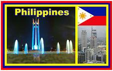 PHILIPPINES - SOUVENIR NOVELTY FRIDGE MAGNET - BRAND NEW - GIFT