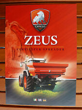 Cavallo Italien - ZEUS - Fertilizer Spreader - IT-Prospekt Brochure (0461