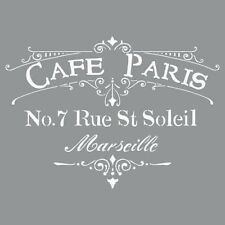 "Americana Decor Stencils-12"" x 12""-Cafe Paris"