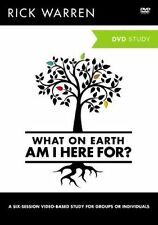 What on Earth am I Here for?: A DVD Study by Rick Warren (DVD video, 2012)