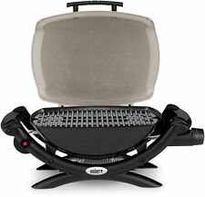 Weber Q1000 Portable LP Gas Grill Color-Titanium
