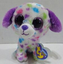 "TY Beanie Boos Darling Polka Dot Dog Justice Exclusive Plush with Tags 6"" 2012"