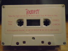 MEGA RARE Mr. Naughty DEMO CASSETTE TAPE hair metal UNRELEASED Running Wild '90s