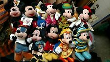 "Mickey Mouse 8"" Bean Bag Plush Lot of 10"