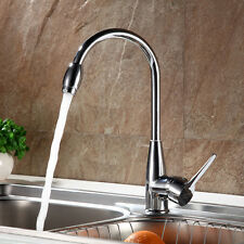 Chrome Plated Hot/Cold Mixer Water Taps Basin Kitchen Bathroom Wash Basin Faucet