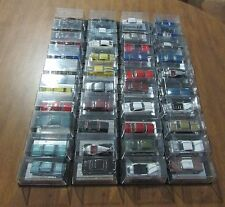 ROUTE 66 RACING CHAMPIONS DIECAST 1/64 FORTY CAR LOT IN MIRRORED CASES JMSR21