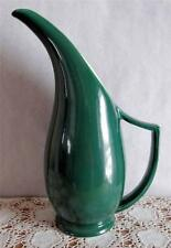 Red Wing LG. GREEN WATER PITCHER - Morning Glory Pattern - NICE