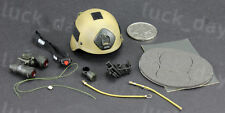 DAM EXPO US 75th RANGER REGIMENT SAW GUNNER MICH2000 HELMET w/ NVG Full Set 1/6