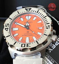SEIKO SBDC023 MONSTER naranja/orange Prospex 200M Diver. De JAPAN!