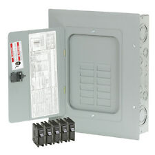 Eaton 24-Circuit 12-Space 125-Amp Main Lug Load Center Indoor Electrical Panel