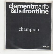(FQ991) Clement Marfo & The Frontline, Champion - DJ CD