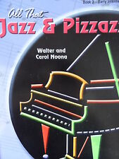 All That Jazz and Pizzazz Book 3 Early Intermediate Piano Sheet Music #16B200
