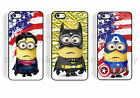 case,cover for iPhone,iPod marvel SUPERHERO MINIONS DESPICABLE me,hero vs,v's