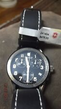 BRAND NEW .Victorinox Swiss Army Classic Chronograph Mens Watch 241404