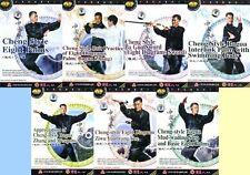 Traditional Cheng Style Bagua ( Ba Gua Zhang ) Series by Liu Jingru 7DVDs