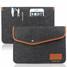 12 Inch New MacBook Sleeve Carrying Case Pouch Laptop Bag Envelope Card Slot