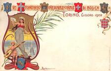 2598) TORINO 1902 CONCORSO INTERNAZIONALE DI MUSICA, ILL. DALBIASO VG NEL 1902.
