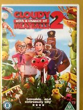 Cloudy WIth A Chance Of Meatballs 2 DVD Christmas gift idea Childrens film