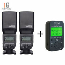 2pcs YONGNUO TTL YN685 Flash Speedlite + YN622N-TX Flash controller for Nikon