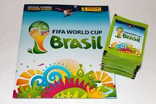 Panini WC WM BRASIL 2014 14 – 100 TÜTEN PACKETS BUSTINE SOBRES + ALBUM, MINT!