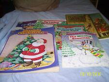 6 Asst. Children's Christmas Books: Activity Book, 5 Storytime Books: Paperbacks