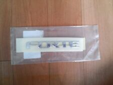 "OEM REAR DECKLID / HATCH EMBLEM ""FORTE""  FOR KIA 2009-2012 FORTE  w/Tracking No."