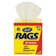 Scott Rag Wipes in a Box - 75260