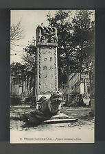 Mint China BW picture Postcard Cemetary Funeral Monument