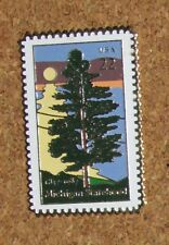 B2  VINTAGE PIN STAMP Michigan 1837-1987 Statehood USA 22 CENT Postal Stamp