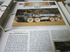 Archiv Militärfahrzeuge schwere Rad Kfz USA 7.1 M977 Series HEMMT 10t Cargo Truc