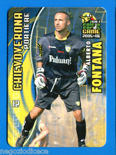 [GCG] CALCIO CARDS GAME 2005-06 - Figurina-Sticker n. 21 - FONTANA - CHIEVO