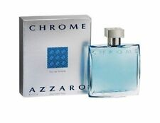 Chrome Azzaro Men 3.3  oz 100 ml *Eau De Toilette* Spray Nib Sealed