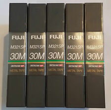 FUJI METAL 30 Minute BETACAM SP M321SP (5 X Video Tape Bundle)