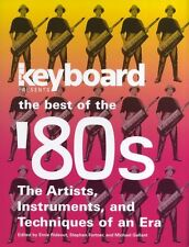 Best of the 80s Play Peter Gabriel Human League Keyboard Synthesiser Music Book